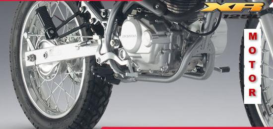 Honda XR 125L, motor