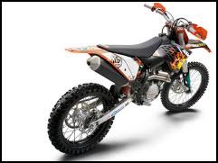 Motocicleta Cross KTM 450 SXF
