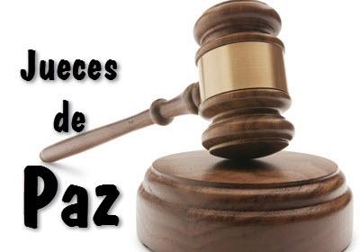 Ley General para los Jueces de Paz