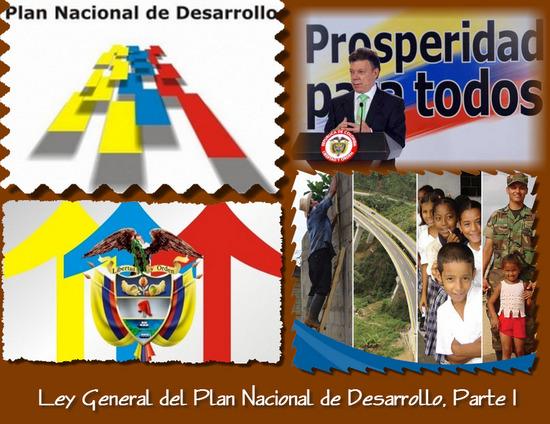Ley General del Plan Nacional de Desarrollo, Parte I