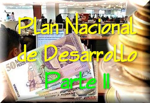 Ley General del Plan Nacional de Desarrollo, Parte II