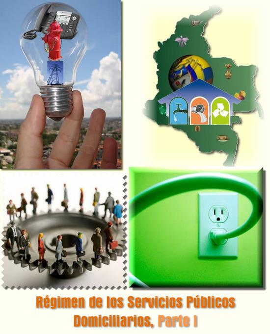 Ley 142 de 1994 en Colombia, Régimen de los Servicios Públicos Domiciliarios, Parte I