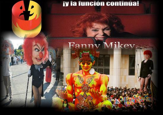 Honores a la Memoria de la Actriz Fanny Mikey