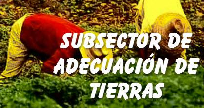 Ley General para el Subsector de Adecuación de Tierras