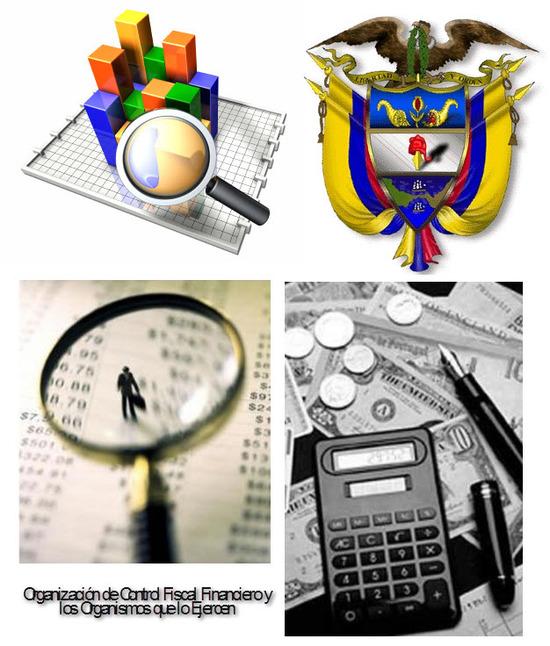 Ley 42 de 1993 en Colombia, Organización de Control Fiscal Financiero y los Organismos que lo Ejercen