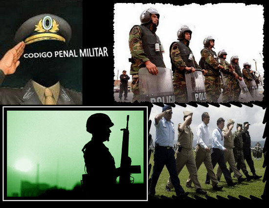 Código Penal Militar, parte I