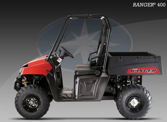 Ranger 400 2011, Lado izquierdo