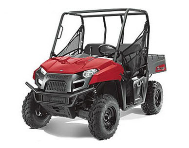 Ranger 400 2011, color rojo