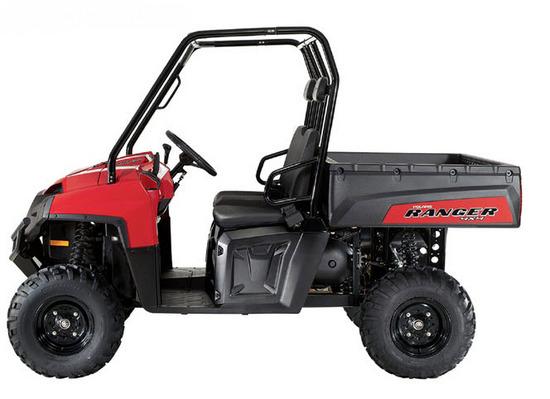 Ranger 500 EFI 4X4, Lado izquierdo