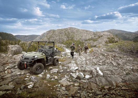 Ranger 500 EFI 4X4, Ideal para cualquier terreno
