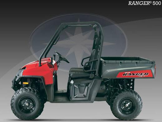 Ranger 500 EFI 4X4, detalles