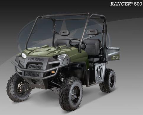 Ranger 500 EFI 4X4, Color verde