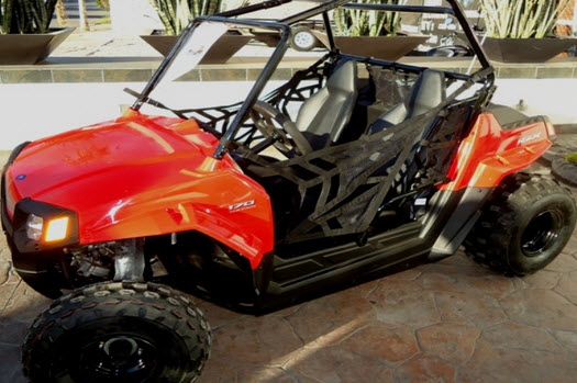 RANGER RZR 170, Color Rojo