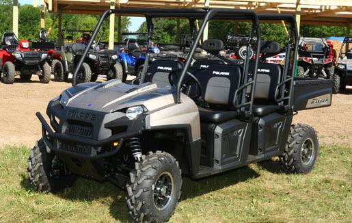 Ranger 800 CREW 2011, exhibición