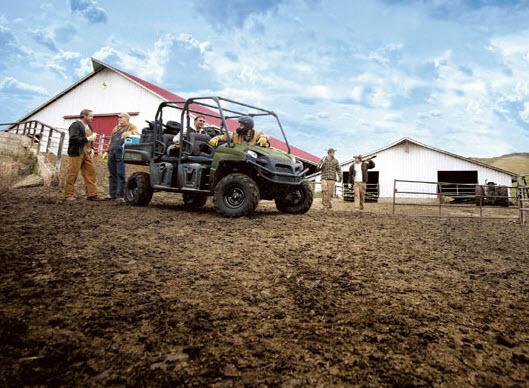 Ranger 800 CREW 2011, ideal para fincas