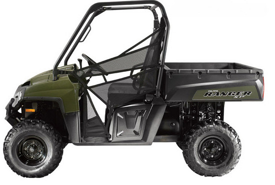 Ranger 800 XP EFI, lateral