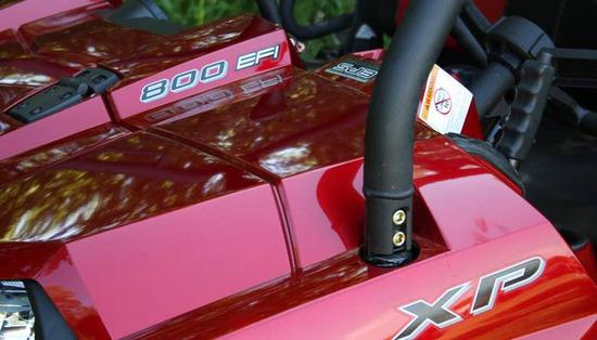 Ranger 800 XP EFI, detalle