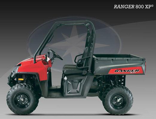 Ranger 800 XP EFI, rojo