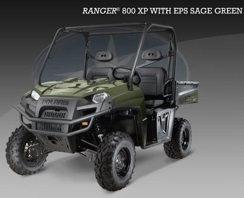 Ranger 800 XP EFI, verde