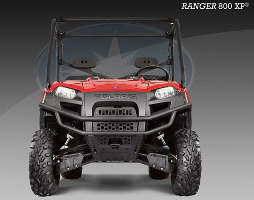 Ranger 800 XP EFI, frontal