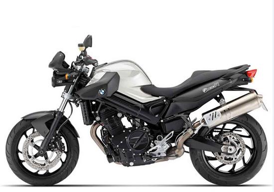 bmw f 800 r Blanco Alpino Negro