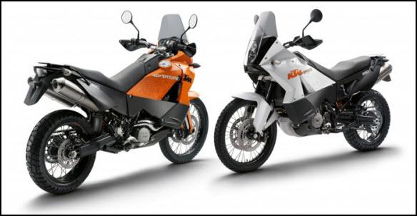 moto KTM 990 adventure 2011
