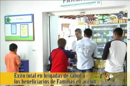 www familias en accion subsidios, pagos y brigadas de salud