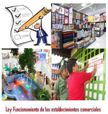 Ley 232 de 1995 en colombia,funcionamiento de los establecimientos comerciales
