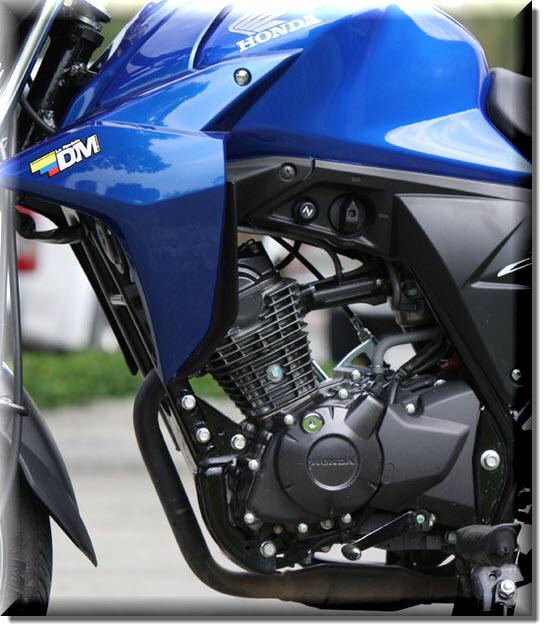Honda CB 110, motor