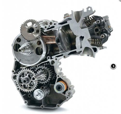 husaberg 450 motor