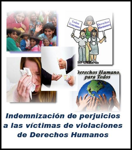 Indemnización de perjuicios a las víctimas de violaciones de Derechos Humanos