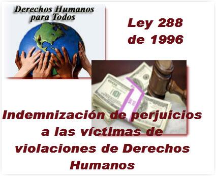 Código de Indemnización de perjuicios a las víctimas de violaciones de Derechos Humanos