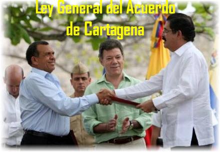 Ley General del Acuerdo de Cartagena