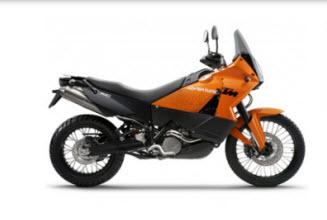 KTM 990 adventure 2011
