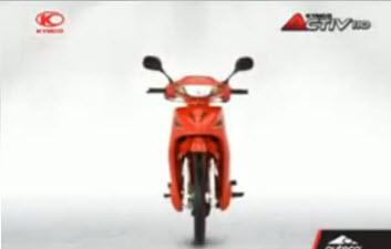 Moto Activ 110 de Auteco