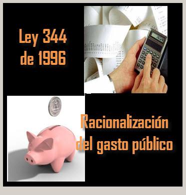 Racionalización del gasto público
