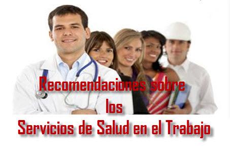 Ley General de las recomendaciones sobre los servicios de salud en el trabajo