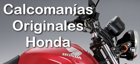 Calcomanías Honda Originales