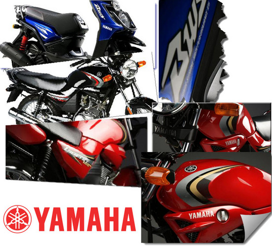 Calcomanías Yamaha Originales