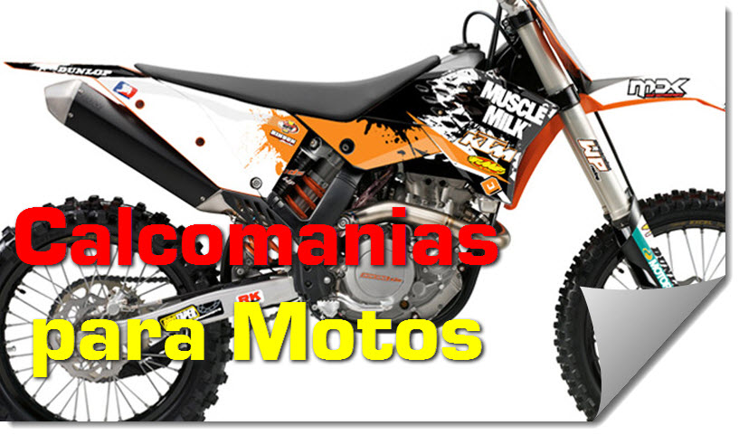 Calcomanias para Motos