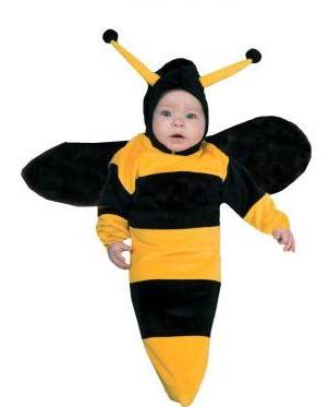 Disfraces para bebe  abeja