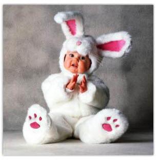 Disfraces para bebe de conejo