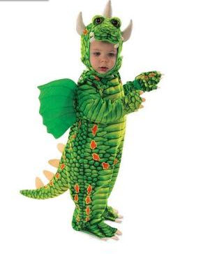 Disfraces para bebe de dragón
