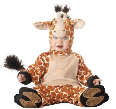 Disfraces para bebe jirafa