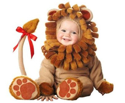 Disfraces para bebe león
