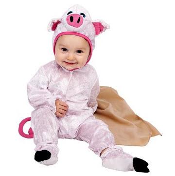 Disfraces para bebe marranita