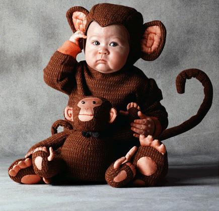Disfraces para bebe mico