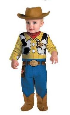 Disfraces para bebe toy story