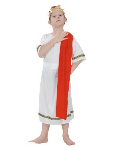 Disfraces para niños emperador  romano
