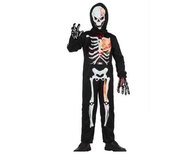 Disfraces para niños esqueleto